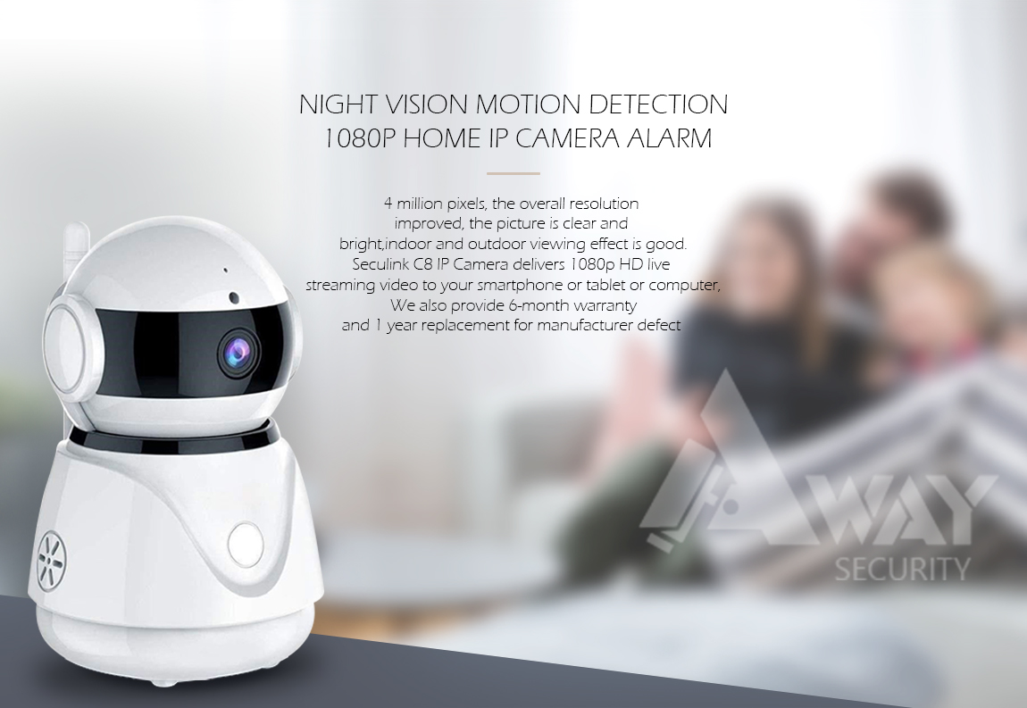 Details about DANALE 360 ROTATE SMART SECURITY CAMERA 2 WAY AUDIO INDOOR   1080p